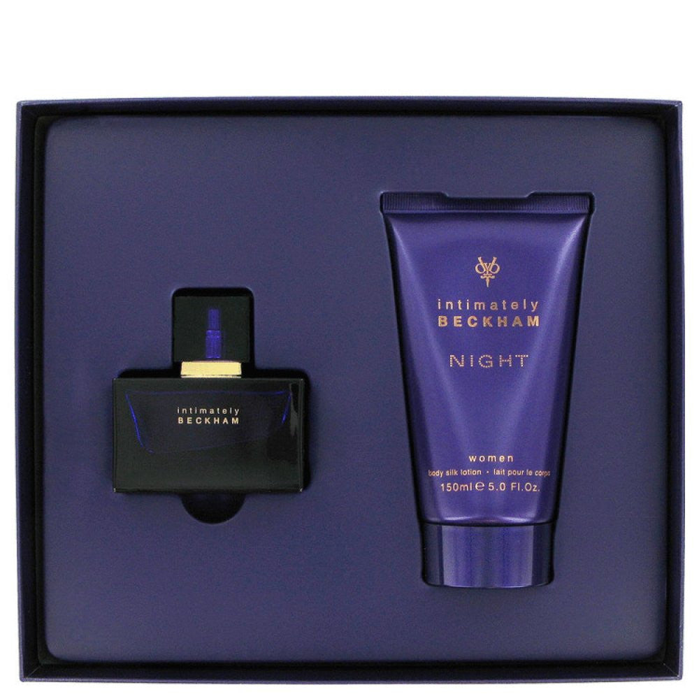 Intimately Beckham Night By David Beckham Gift Set -- 2.5 Oz Eau De Toilette Spray + 5 Oz Body Lotion