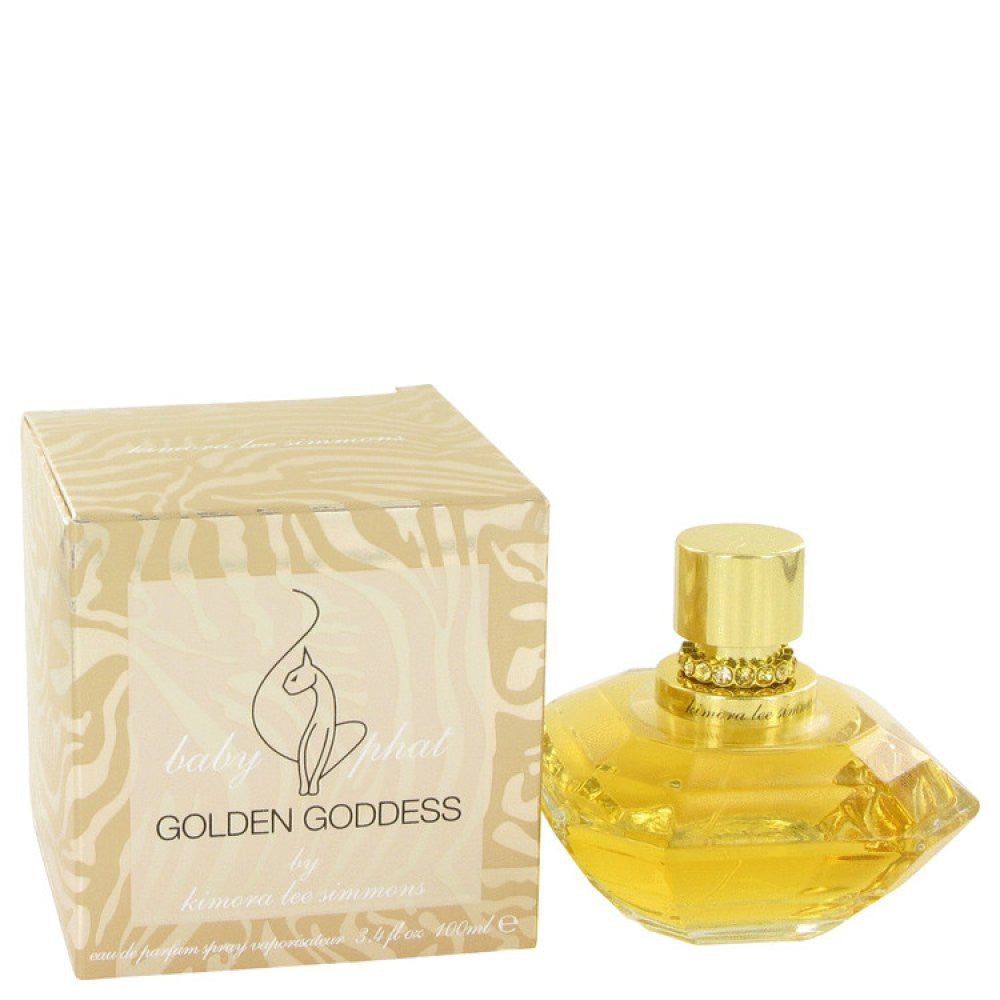 Golden Goddess By Kimora Lee Simmons Eau De Parfum Spray 3.4 Oz