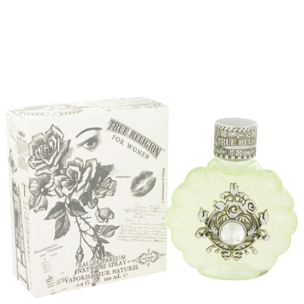 True Religion By True Religion Eau De Parfum Spray 3.4 Oz