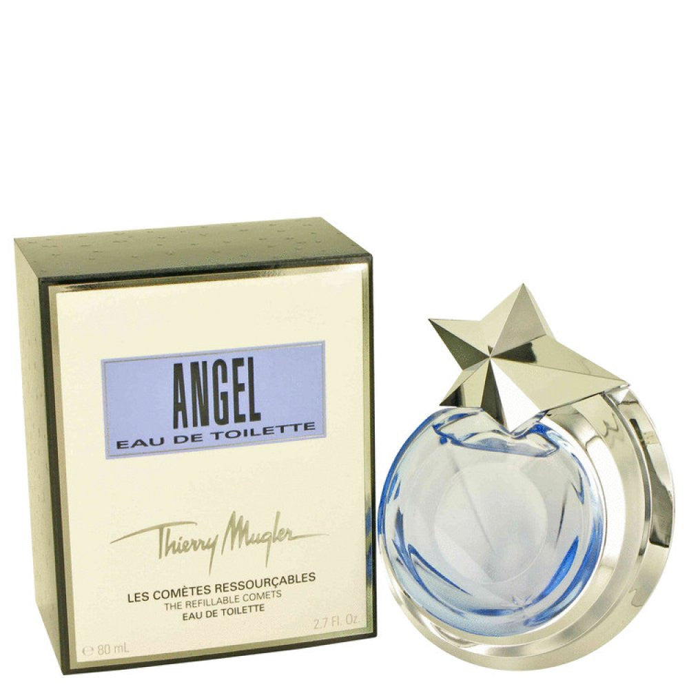 Angel By Thierry Mugler Eau De Toilette Spray Refillable 2.7 Oz