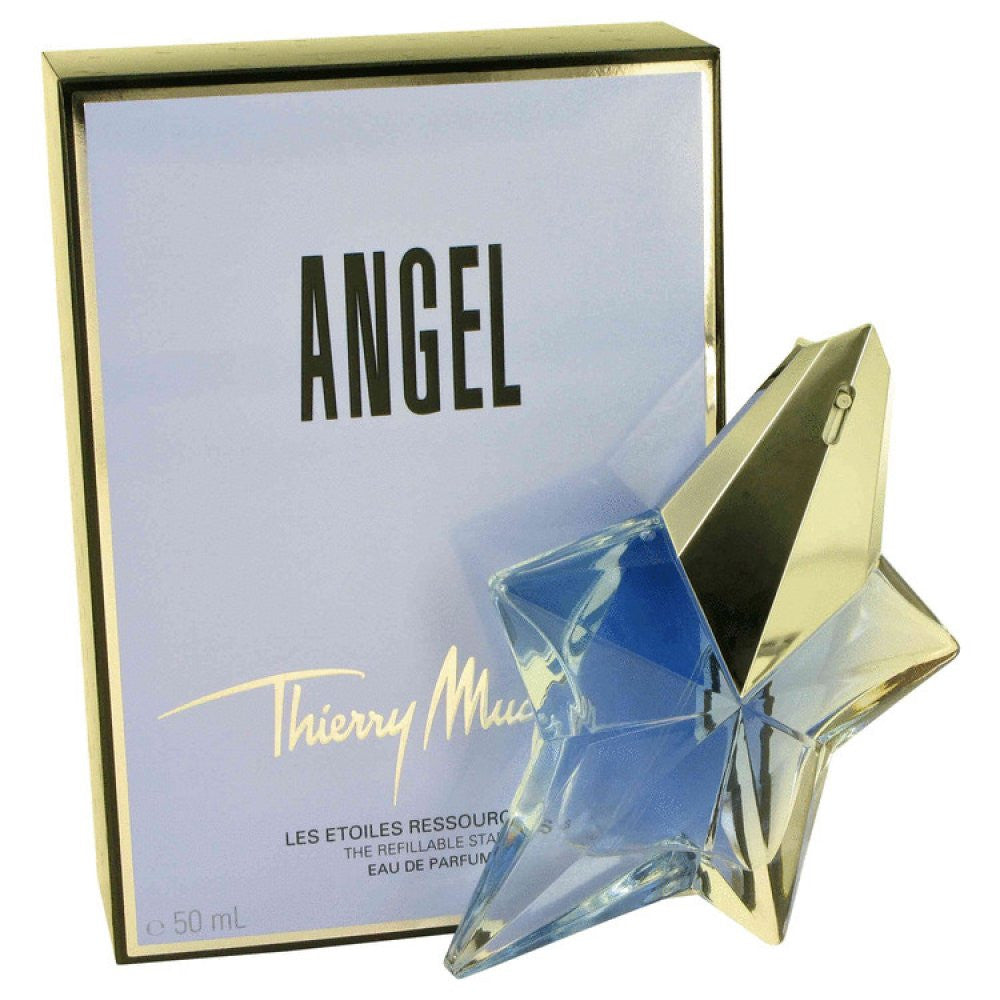 Angel By Thierry Mugler Eau De Parfum Spray Refillable 1.7 Oz