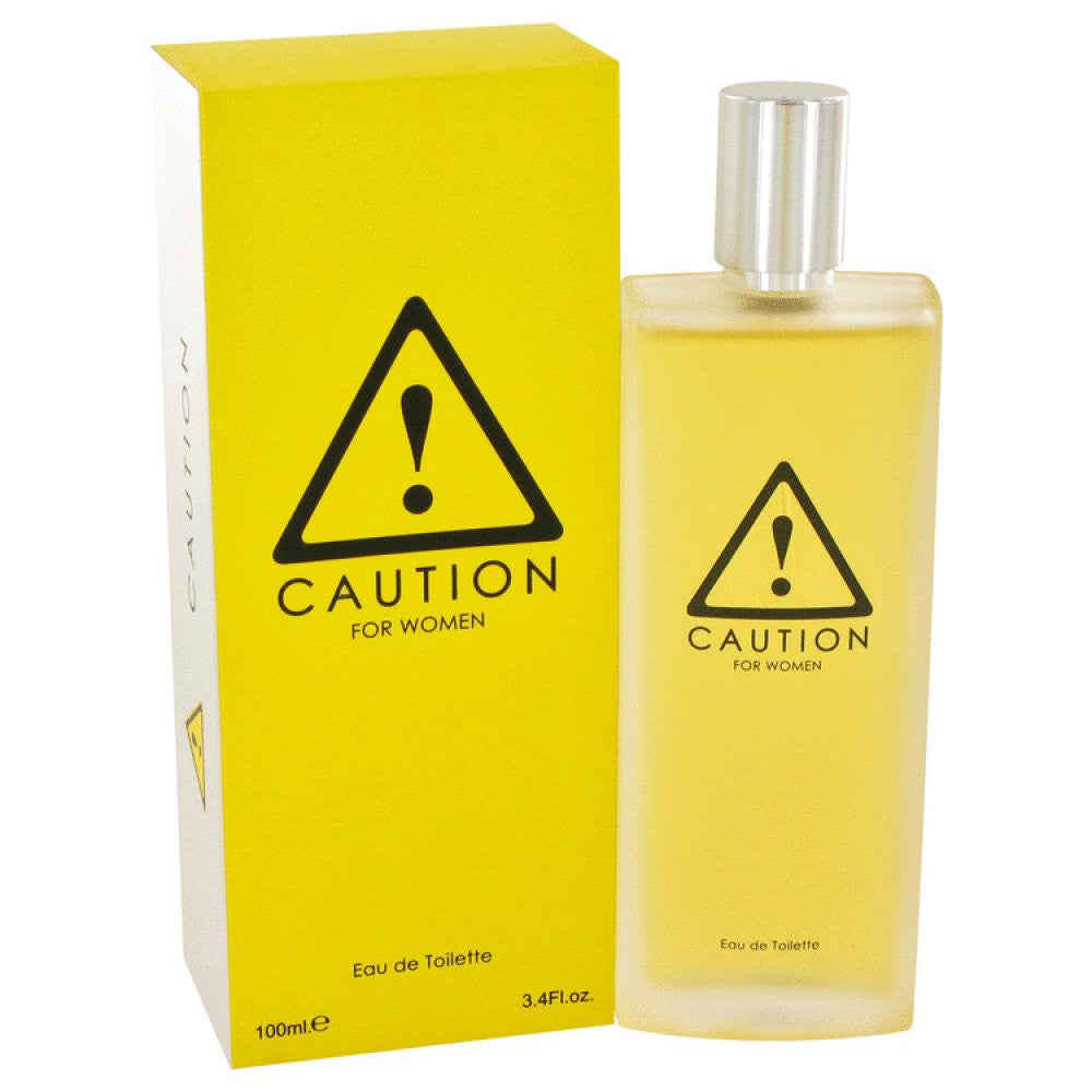 Caution By Kraft Eau De Toilette Spray 3.4 Oz