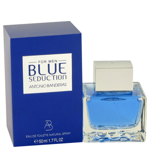 Blue Seduction By Antonio Banderas Eau De Toilette Spray 1.7 Oz
