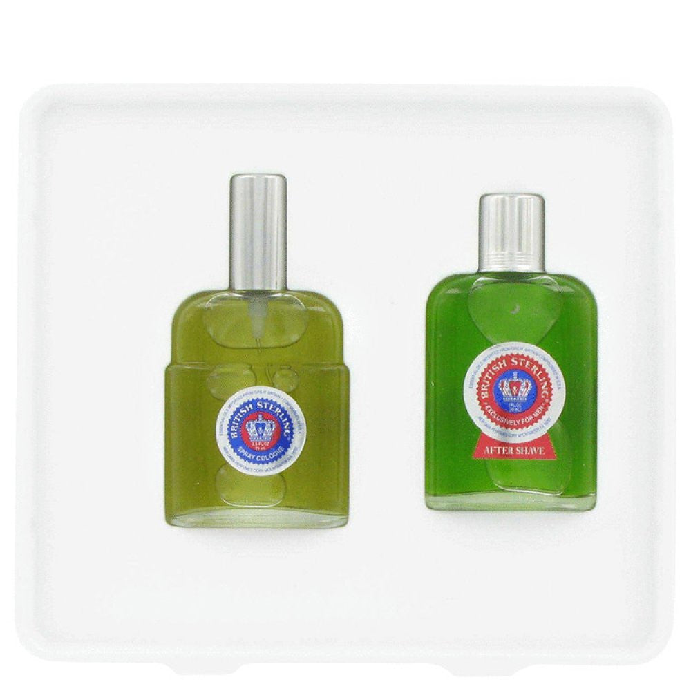 British Sterling By Dana Gift Set -- 2.5 Oz Cologne Spray + 2.5 Oz After Shave