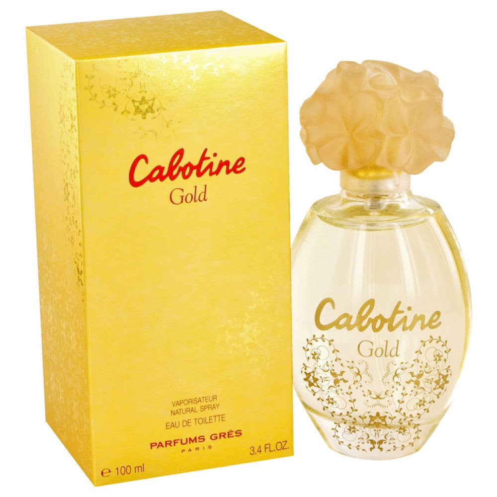 Cabotine Gold By Parfums Gres Eau De Toilette Spray 3.4 Oz