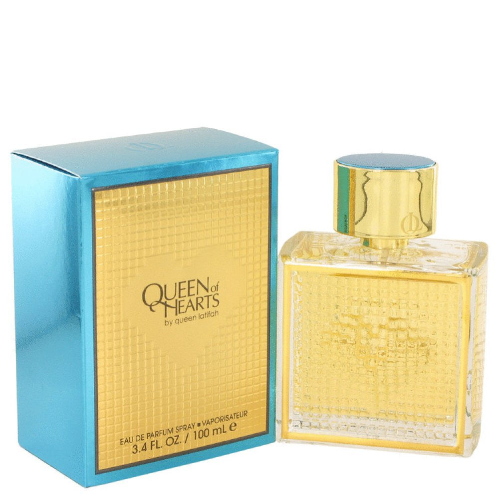 Queen Of Hearts By Queen Latifah Eau De Parfum Spray 3.4 Oz