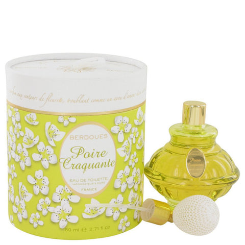 Poire Craquante By Berdoues Eau De Toilette Spray 2.71 Oz