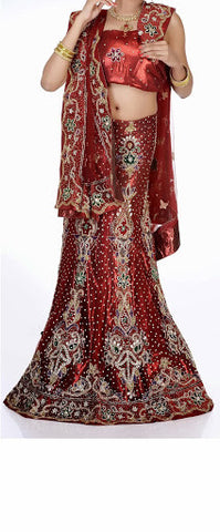 Women Bridal Wear Lehanga MCD-103-10