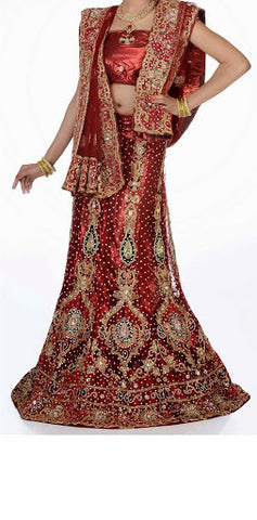 Women Bridal Wear Lehanga MCD-103-14