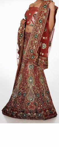 Women Bridal Wear Lehanga MCD-103-46