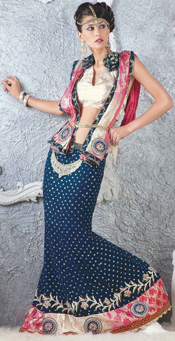 Party Wear Sarees    PT-1173