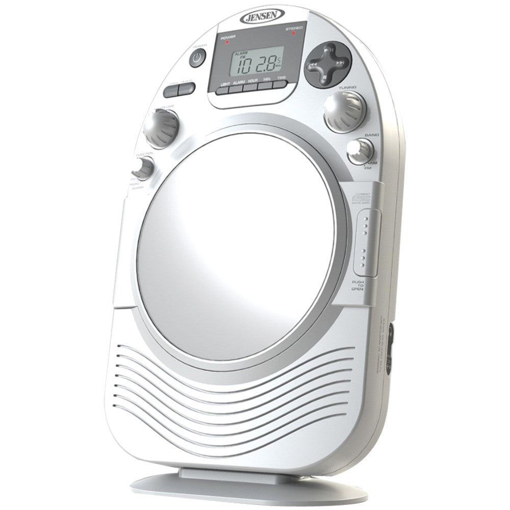 Jensen Am And Fm Stereo Shower Radio With Cd