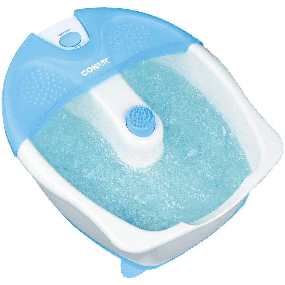 Conair Foot Bath With Heat Bubbles & Attachment