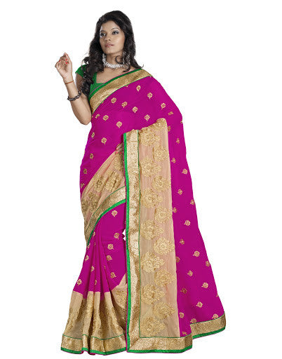 Party Wear Sarees TSPOKR04