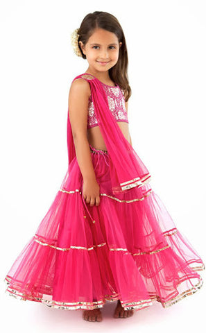 Kids-Fancy-Girls Dresses-UEK-49