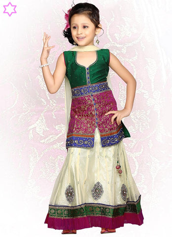 Kids-Fancy-Girls Dresses-UEK-46