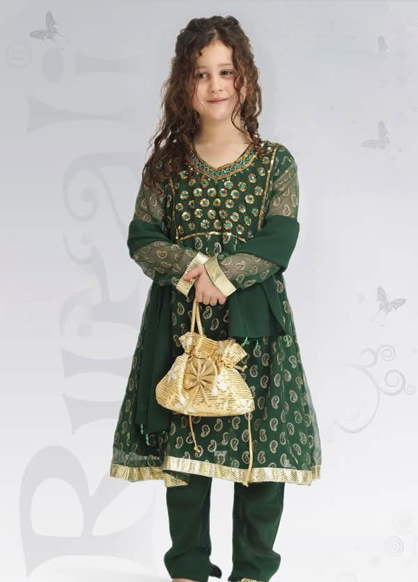 Kids-Fancy-Girls Dresses-UEK4