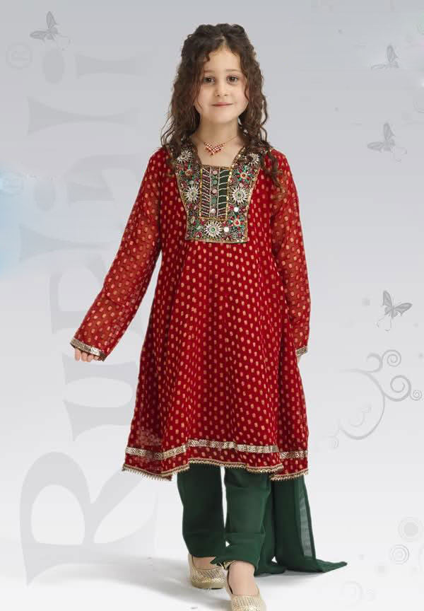 Kids-Fancy-Girls Dresses-UEK5