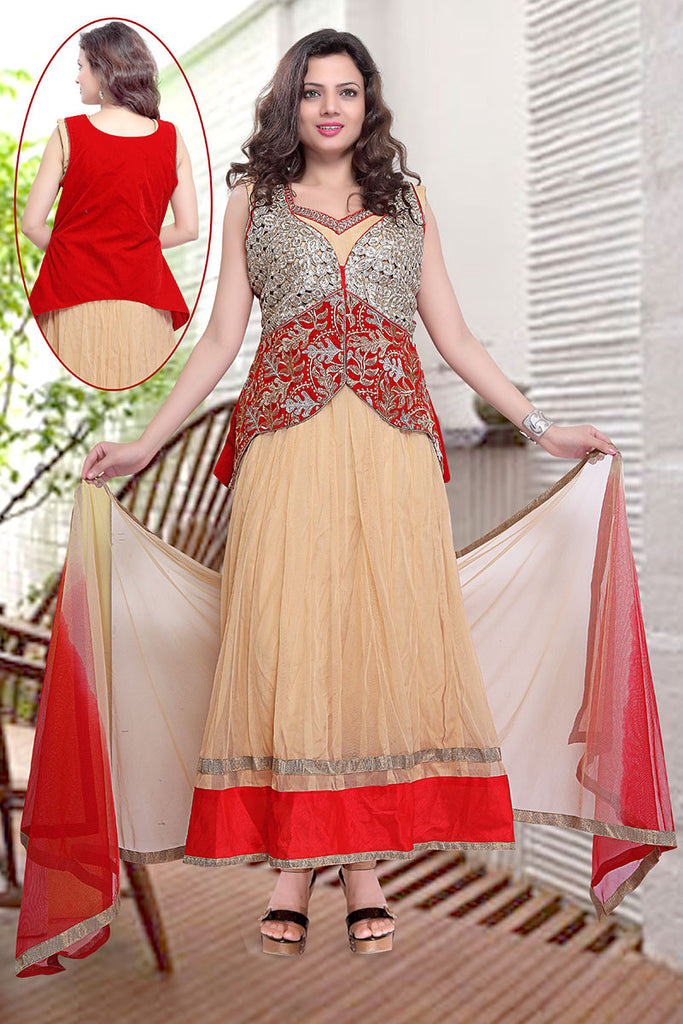 Women Anarkali Suit usds4941