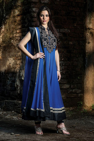 Women Anarkali Suit   W13-21a