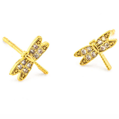 DragonFly Sparkle Studs