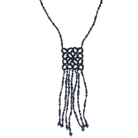 Square Tassel Necklace - Lori McLean