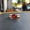Custom Ruby Ring - Lori McLean