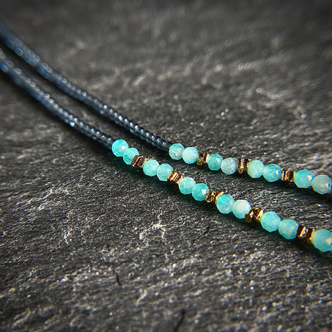 Amazonite Collar Necklace