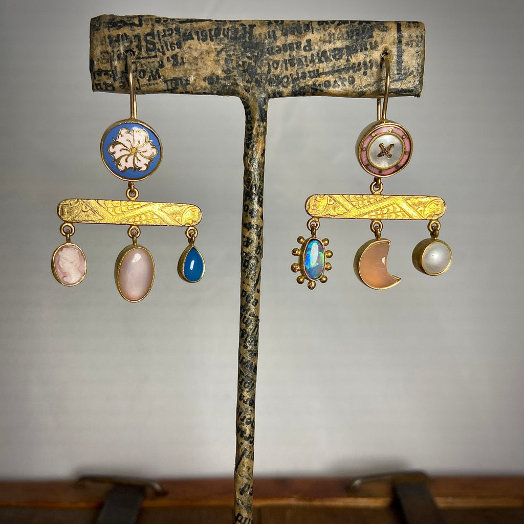 Balanced Drop Earrings