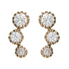 Diamond Comet Earrings - Lori McLean