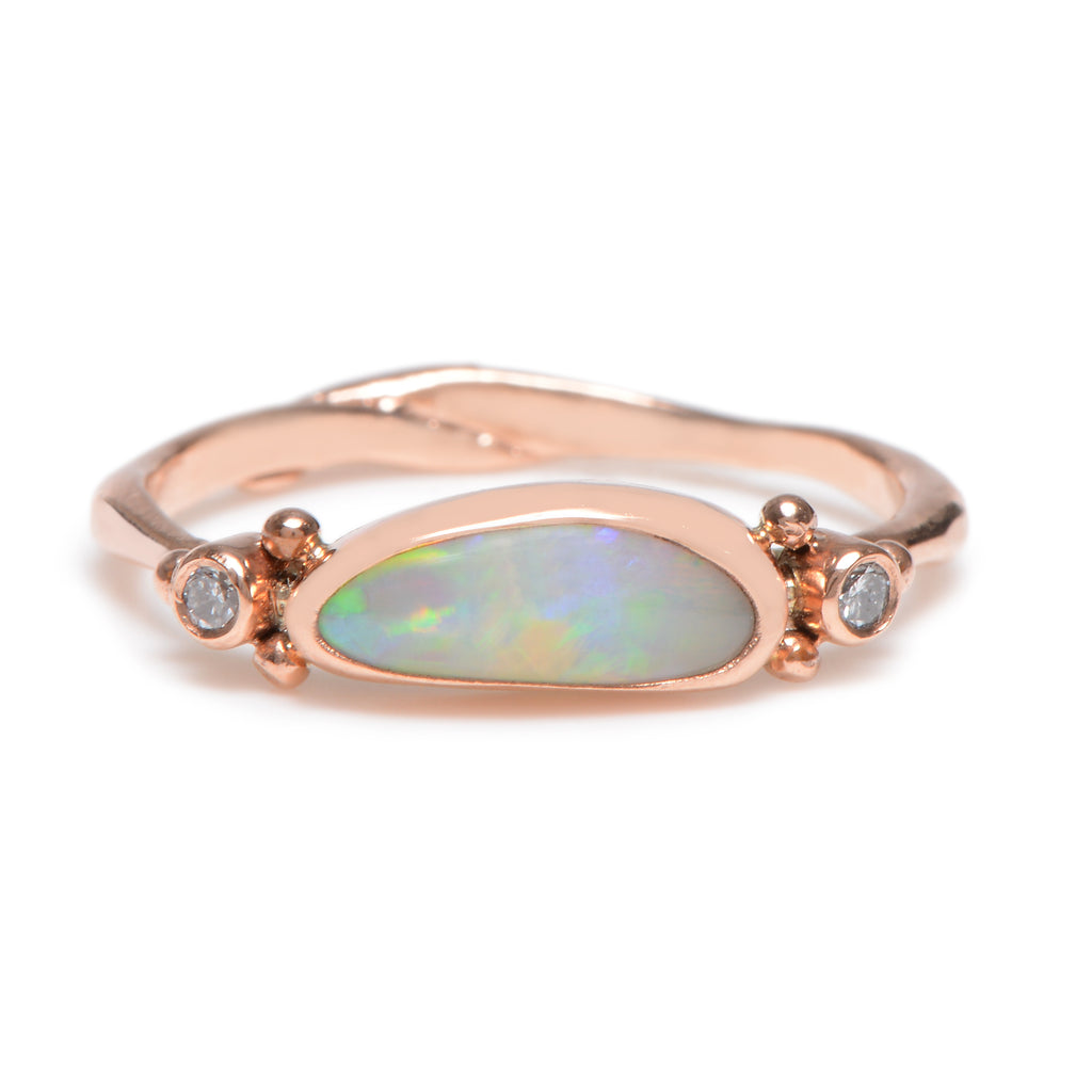 Opal and Diamond Ring - Lori McLean
