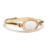Moonstone & Diamond Ring - Lori McLean