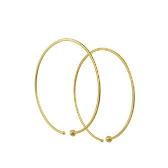 Medium Loop Hoop Earrings - Lori McLean