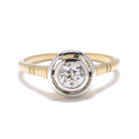 Floating Diamond Ring - Lori McLean