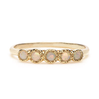 Five Opal Ring - Lori McLean