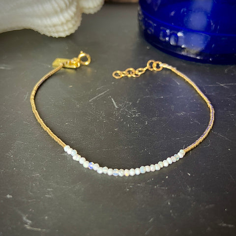 Milk & Honey Halfmoon Opal Bracelet