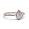 Rose Cut Diamond Solitaire - Lori McLean