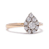 Paisley Diamond Cluster Ring - Lori McLean