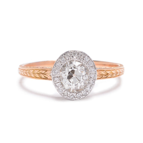 Oval Old Mine Diamond Ring - Lori McLean