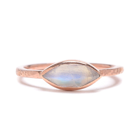 Marquise Moonstone Ring - Lori McLean