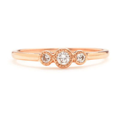 Trinity Diamond Ring - Lori McLean