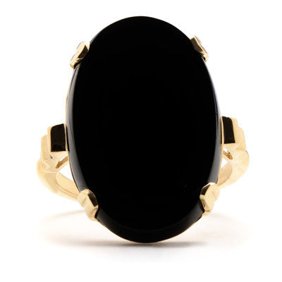 Grand Tour Onyx Ring - Lori McLean