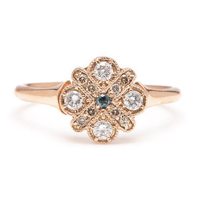 Four Cross Diamond Ring - Lori McLean