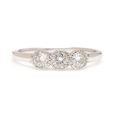 Trio Diamond Ring - Lori McLean