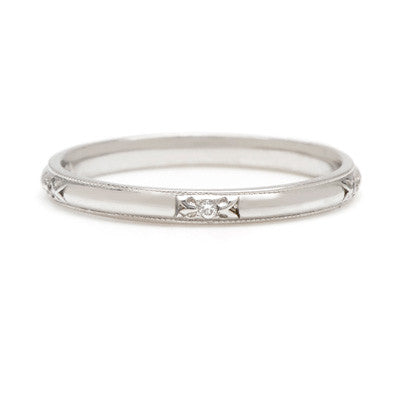 Arrow with Diamonds Band - Lori McLean