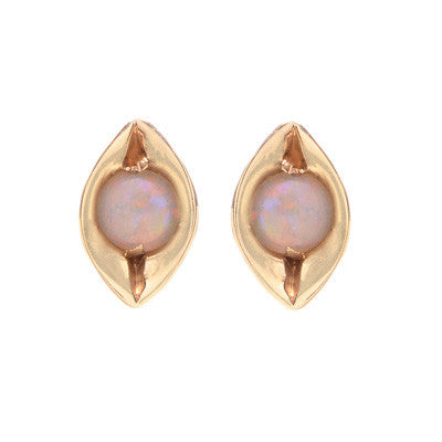 Evil Eye Opal Earrings - Lori McLean