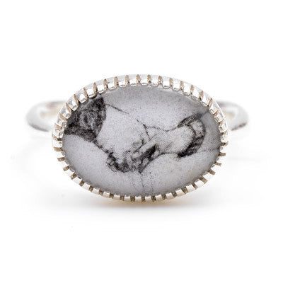 Portrait Ring in Silver - Lori McLean
