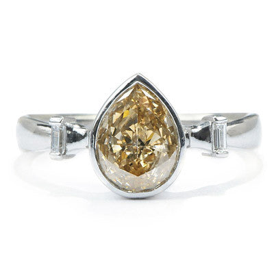 Cream Soda Diamond Ring - Lori McLean