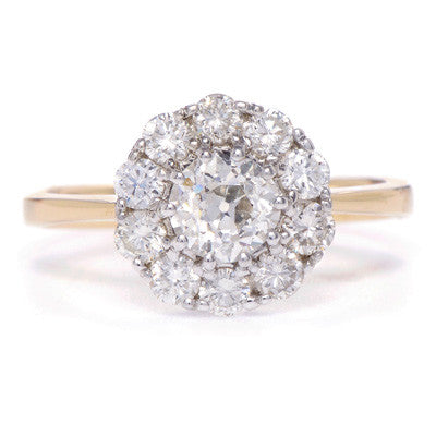 Diamond Cluster Setting - Lori McLean