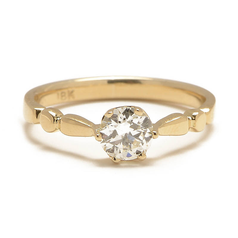 Transitional Diamond Solitaire Ring - Lori McLean